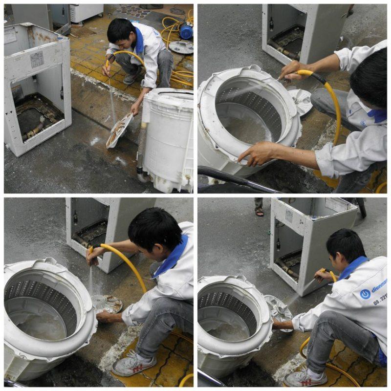 sửa máy giặt tô hiến thành