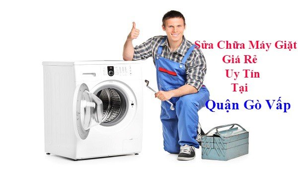 sửa chữa máy giặt tại quận gò vấp