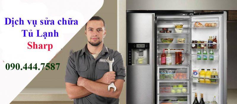 dịch vụ sửa chữa tủ lạnh sharp