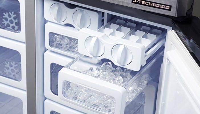 tủ lạnh làm đá